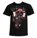 Men's Cotton DEADPOOL Glow In The Dark Empty Clips T-Shirt