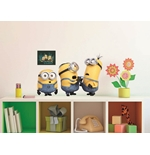Minions Wall Stickers Relax&Fight