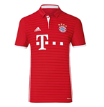 2016-2017 Bayern Munich Adidas Home Football Shirt