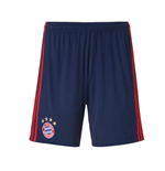 2016-2017 Bayern Munich Adidas Home Goalkeeper Shorts (Night Indigo)