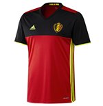 2016-2017 Belgium Home Adidas Football Shirt