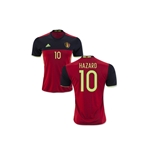 2016-2017 Belgium Home Shirt (Hazard 10)