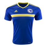 2016-2017 Bosnia Herzegovina Home Adidas Football Shirt