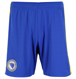 2016-2017 Bosnia Home Adidas Football Shorts (Blue)