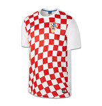 2016-2017 Croatia Home Nike Supporters Shirt