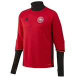 2016-2017 Denmark Adidas Training Top (Red)