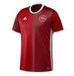2016-2017 Denmark Home Adidas Football Shirt