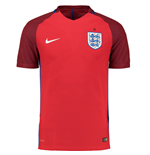 2016-2017 England Away Nike Authentic Match Shirt