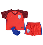 2016-2017 England Away Nike Baby Kit