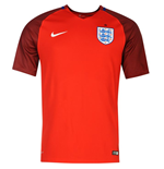 2016-2017 England Away Nike Football Shirt