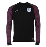 2016-2017 England Home Nike Goalkeeper Shirt (Black) - Kids
