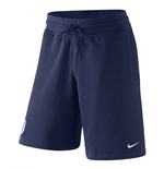 2016-2017 England Nike Authentic AW77 Alumni Shorts (Navy)