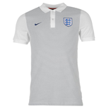 2016-2017 England Nike Authentic Grand Slam Slim Polo Shirt (Grey)