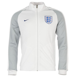 2016-2017 England Nike Authentic N98 Jacket (White)