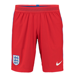 2016-2017 England Nike Away Match Shorts (Red)