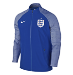 2016-2017 England Nike Elite Revolution Woven Jacket (Blue)