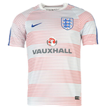 2016-2017 England Nike Pre-Match Training Shirt (White)