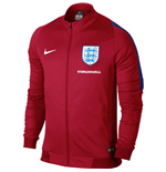 2016-2017 England Nike Revolution Knit Jacket (Red)