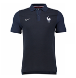 2016-2017 France Nike Authentic GS Polo Shirt (Navy) - Kids
