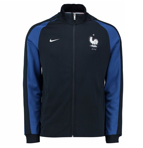 a7f59001e1 Buy Official 2016-2017 France Nike Authentic N98 Jacket (Navy) - Kids