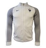 2016-2017 France Nike Authentic N98 Jacket (White) - Womens