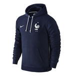 2016-2017 France Nike Core Hooded Top (Navy) - Kids