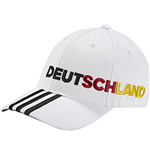 2016-2017 Germany Adidas 3S CF Cap (White)