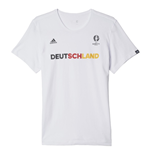 2016-2017 Germany Adidas Euro 2016 Tee (White)