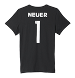 2016-2017 Germany Adidas Manuel Neuer T-Shirt (Black)