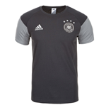 2016-2017 Germany Adidas Players Training Tee (Grey)