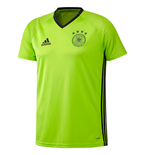 2016-2017 Germany Adidas Players Training Tee (Solar Slime) - Kids