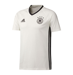 2016-2017 Germany Adidas Players Training Tee (White)