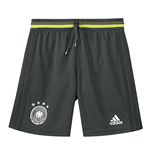 2016-2017 Germany Adidas Training Shorts (Grey) - Kids