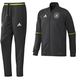 2016-2017 Germany Adidas Training Suit (Grey) - Kids