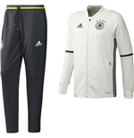 2016-2017 Germany Adidas Training Suit (White) - Kids