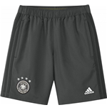 2016-2017 Germany Adidas Woven Shorts (Grey) - Kids