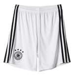 2016-2017 Germany Home Adidas Goalkeeper Shorts (White)