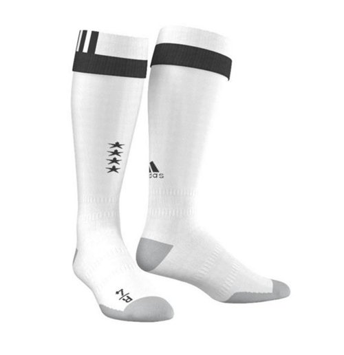 2016-2017 Germany Home Adidas Goalkeeper Socks (White)