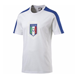 2016-2017 Italy Puma Fanwear Badge Tee (White)