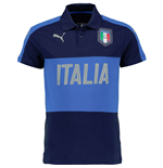 2016-2017 Italy Puma Casual Polo Shirt (Peacot)