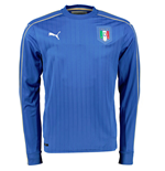 2016-2017 Italy Home Long Sleeve Puma Football Shirt