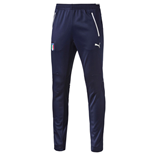 2016-2017 Italy Puma Coach Training Pants (Navy)