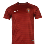 2016-2017 Portugal Nike Pre-Match Training Shirt (Red)