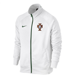 2016-2017 Portugal Nike Core Trainer Jacket (White)