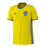 2016-2017 Sweden Home Adidas Football Shirt