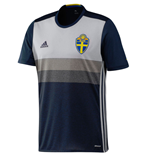 2016-2017 Sweden Away Adidas Football Shirt