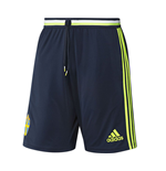 2016-2017 Sweden Adidas Training Shorts (Navy)