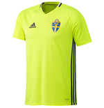 2016-2017 Sweden Adidas Training Jersey (Yellow)