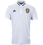2016-2017 Sweden Adidas Polo Shirt (White)