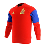 2016-2017 Spain Adidas Sweat Top (Red)